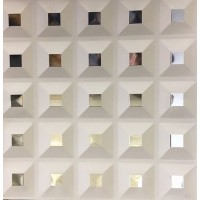Кассетный потолок 300х300 кессон белый