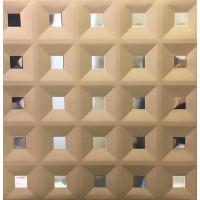 Кассетный потолок 300х300 кессон золото