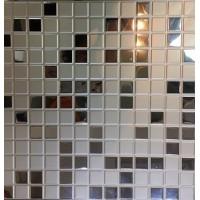 Кассетный потолок 300х300 мозаика кремовая