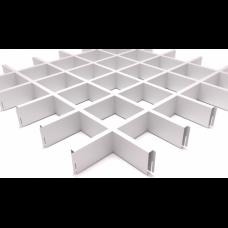 Грильято 100х100 белый матовый