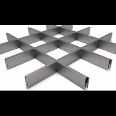 Грильято 150х150 металлик