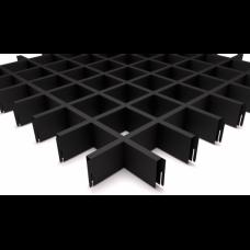 Грильято 75х75 черный
