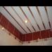 Реечный  алюминиевый потолок белый матовый Cesal 3306